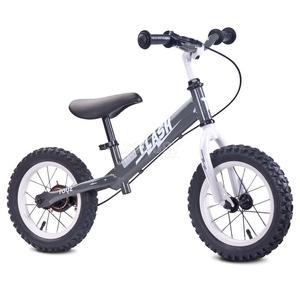 Rowerek dziecięcy, biegowy, metalowy 3-6 lat FLASH grey Toyz - 2850215479