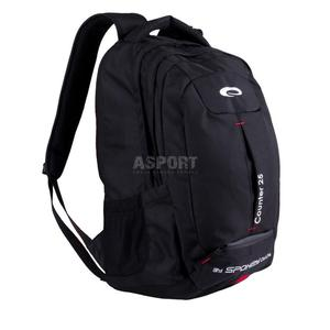 09ab18e36d7aa Plecak szkolny, turystyczny, miejski, na laptopa COUNTER 25L Spokey Kolor:  czarny Spokey