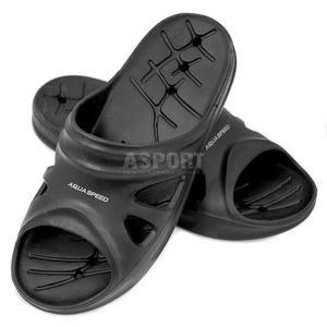 Klapki męskie, basenowe FLORIDA czarne Aqua-Speed Rozmiar: 42 - 2836304019
