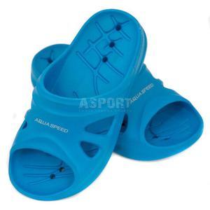 Klapki dziecięce, basenowe FLORIDA niebieski Aqua-Speed Rozmiar: 33 - 2836304045