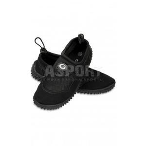 Obuwie plażowe, buty do wody damskie GWINNER czarne Rozmiar: 35