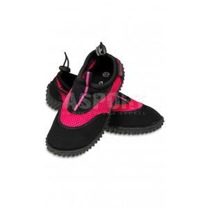 Obuwie plażowe, buty do wody damskie GWINNER czarno-różowe Rozmiar: 38