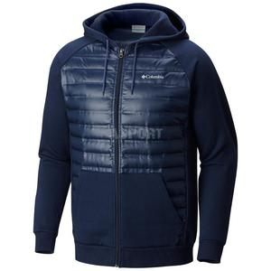Bluza męska z kapturem, rozpinana, ocieplana NORTHERN COMFORT Columbia Rozmiar: M Kolor: granatowy