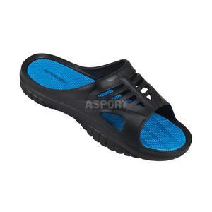 Klapki basenowe MERLIN niebieskie Spokey Rozmiar: 45 - 2839067694
