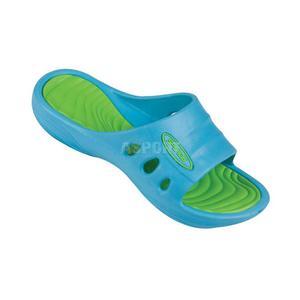 Klapki basenowe dziecięce FLIPI zielono-niebieskie Spokey Rozmiar: 33 - 2839067745