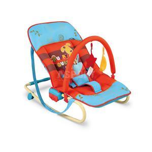 Leżaczek bujany dla niemowląt MAXI PIESEK Milly Mally - 2841606194