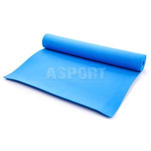 Mata do ćwiczeń, jogi, fitness 173x61 YOGA niebieska Meteor - 2841606264