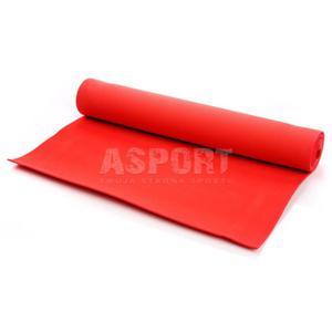 Mata do ćwiczeń, jogi, fitness 173x61 YOGA czerwona Meteor - 2841606265