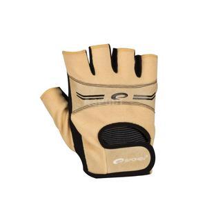 Rękawice, rękawiczki fitness, na siłownię ELENA beżowe Spokey Rozmiar: L - 2841606442