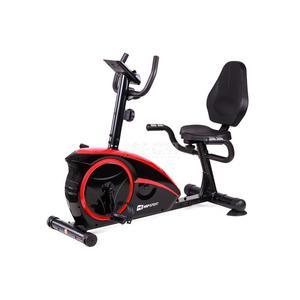 Rower magnetyczny, poziomy, leżący AXUM HS-67R czerwony Hop-Sport - 2841606493