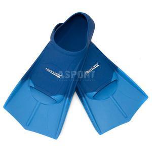 Płetwy treningowe, silikonowe, krótkie Aqua-Speed ciemnoniebieskie Rozmiar: 37-38 - 2841606518
