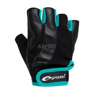 Rękawiczki na fitness, siłownię ZOE czarne Spokey Rozmiar: S - 2843840926