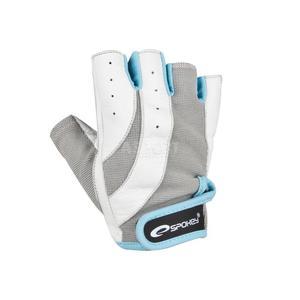 Rękawiczki na fitness, siłownię ZOE białe Spokey Rozmiar: L - 2843840931