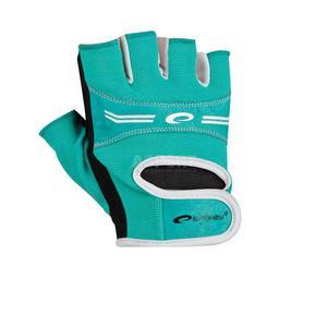 Rękawice, rękawiczki fitness, na siłownię ELENA turkusowe Spokey Rozmiar: L - 2843840934