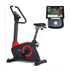 Rower elektromagnetyczny, iConsole HS-080H ICON czerwony Hop-Sport - 2846236494