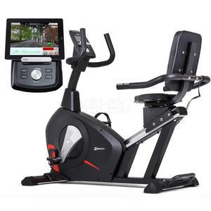 Rower elektromagnetyczny, iConsole, leżący HS-100L EDGE Hop-Sport - 2846236496