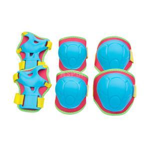 Ochraniacze dziecięce, zestaw: nadgarstki, kolana, łokcie BUFFER Spokey Rozmiar: M - 2847764057