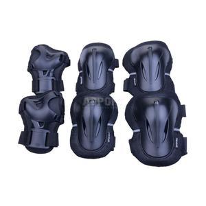 Ochraniacze dziecięce, zestaw: nadgarstki, kolana, łokcie PLATE Spokey Rozmiar: S - 2847764062