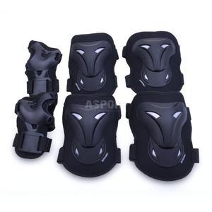 Ochraniacze dziecięce, zestaw: nadgarstki, kolana, łokcie POLEYN Spokey Rozmiar: M - 2847764075