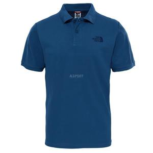 Koszulka męska polo, polówka POLO PIQUET The North Face Rozmiar: L Kolor: ciemnoniebieski