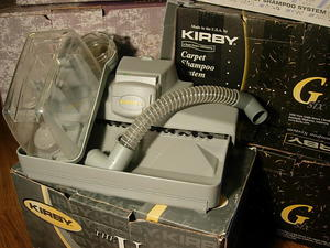 Szamponiera do prania dywanów kirby -uzywana - 2224841969