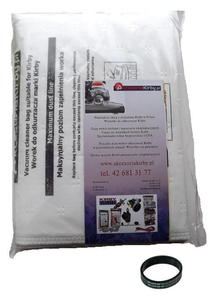 Worki zamienniki dla worków Allergen Reduction 6 sztuk + pasek napedowy - 2224842026