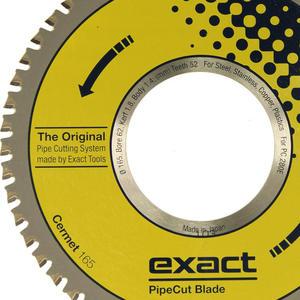 Tarcza piła widiowa CERMET do cięcia stali nierdzewnej Exact 165mm - 52z - 2882009615