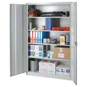 Szafa magazynowa metalowa spawana do warsztatu lub biura 120x40x195cm - 2847352562