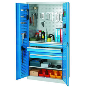 Szafa warsztatowa spawana z szufladami na narzędzia 95x60x195cm - 2847352563
