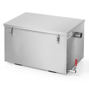 Separator do tłuszczu do kuchni zmywalni gastronomicznej 30L - Hendi 975718 - 2848900381