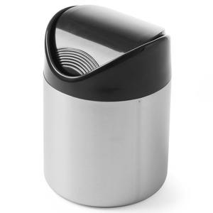 Śmietniczka stołowa pojemnik na stół na odpadki pokrywa uchylna śr. 120mm stal nierdzewna - Hendi 440704 - 2850652620