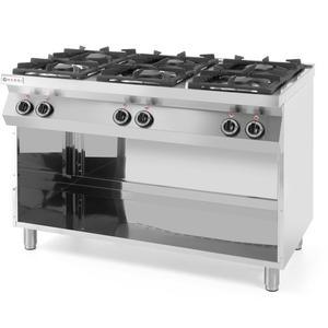 Kuchnia gazowa wolnostojąca na podstawie stalowej 6-palnikowa szer. 120cm - 2852140779