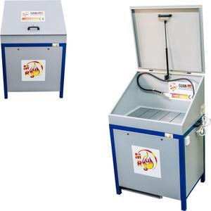 Myjka warsztatowa do części z obiegiem zamkniętym MST 800 z pokrywą - 2827717823