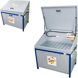 Myjka warsztatowa z obiegiem zamkniętym ekologiczna MST 1200 z pokrywą - 2827717829