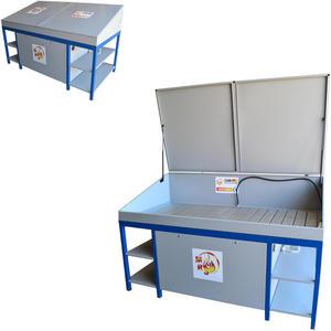 Myjka warsztatowa stół warsztatowy do mycia części i narzędzi MST 2000 z pokrywą - 2827717831
