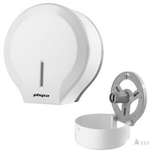Dozownik podajnik do papieru toaletowego ścienny jumbo biały Physa FOGGIA WHITE - 2865983093
