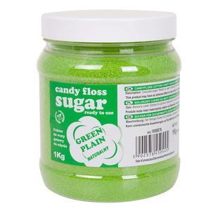 Kolorowy cukier do waty cukrowej zielony naturalny smak waty cukrowej 1kg - 2874439519