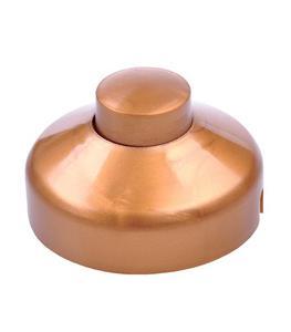 Złącze przełącznik przelotowy nożny złoty 1A/250V - 2768806157