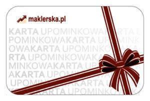 Karta upominkowa Maklerska.pl 100 zł - 2829729174
