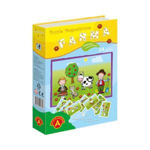 Alexander Puzzle magnetyczne - Farma - 2859553871