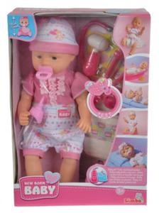 Lalka New Baby Born - Doktor z akcesoriami - Simba - 2885514625