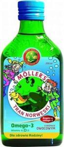 Tran Norweski Möller's o aromacie owocowym 250 ml - 2833548644