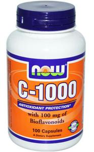 Now Foods C-1000 witamina C 1000 mg 100 kapsułek - 2833548795