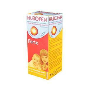 Nurofen dla dzieci Forte 200 mg / 5 ml zawiesina doustna o smaku pomarańczowym 100 ml - 2833548818