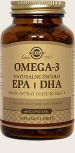 Solgar Omega 3 naturalne źródło EPA i DHA 60 kapsułek - 2833548936