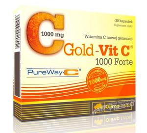 Olimp Gold-Vit C 1000 Forte 30 kapsułek - 2840881081