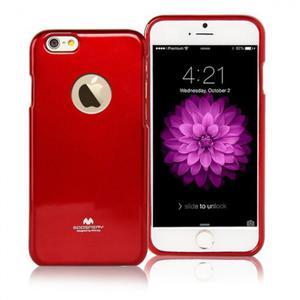 Mercury/Goospery Jelly Case [Red], Pokrowiec silikonowy dla iPhone 6/6s - 2860779785