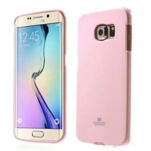 Mercury/Goospery Jelly Case [Baby Pink], Pokrowiec silikonowy dla GALAXY S6 - 2825286930