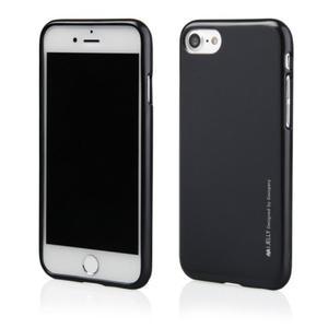 Mercury/Goospery i-Jelly Metal Case [Black], Pokrowiec silikonowy dla iPhone 6/6S - 2834661999