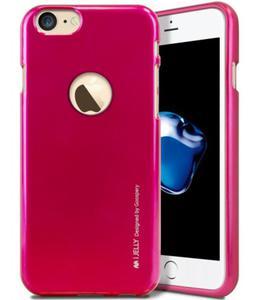 Mercury/Goospery i-Jelly Case [Hot Pink], Pokrowiec silikonowy dla iPhone 7/8 - 2856190495